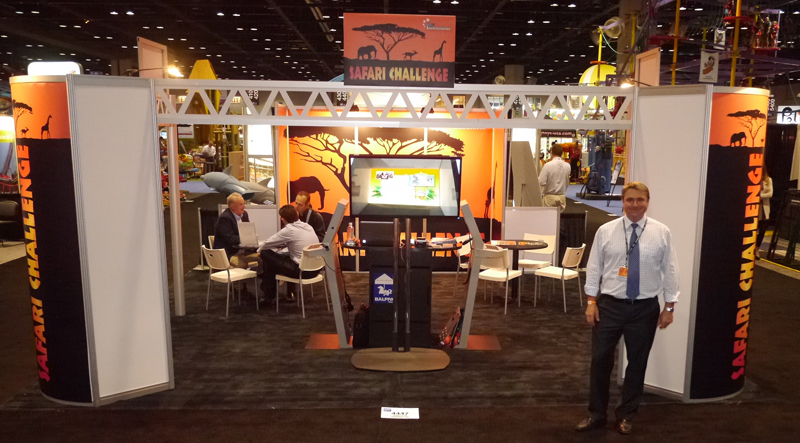 1st Attractions Exhibition Stand